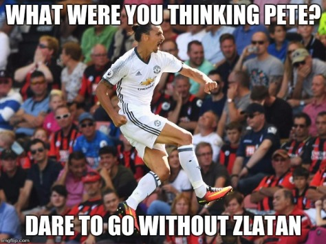 dare to not zlatan