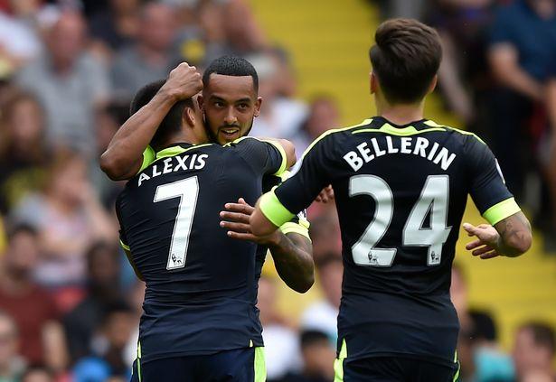 Watford-v-Arsenal