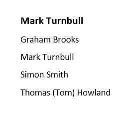 Agent Mark Turnbull