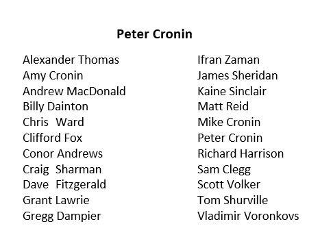 Agent Pete Cronin
