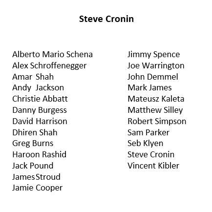 Agent Steve Cronin