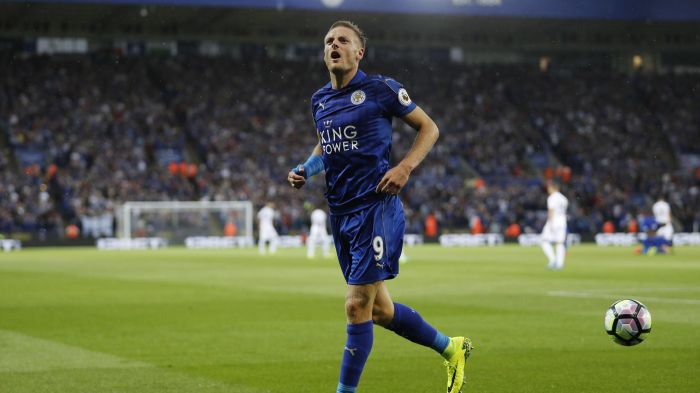 vardy nailed on