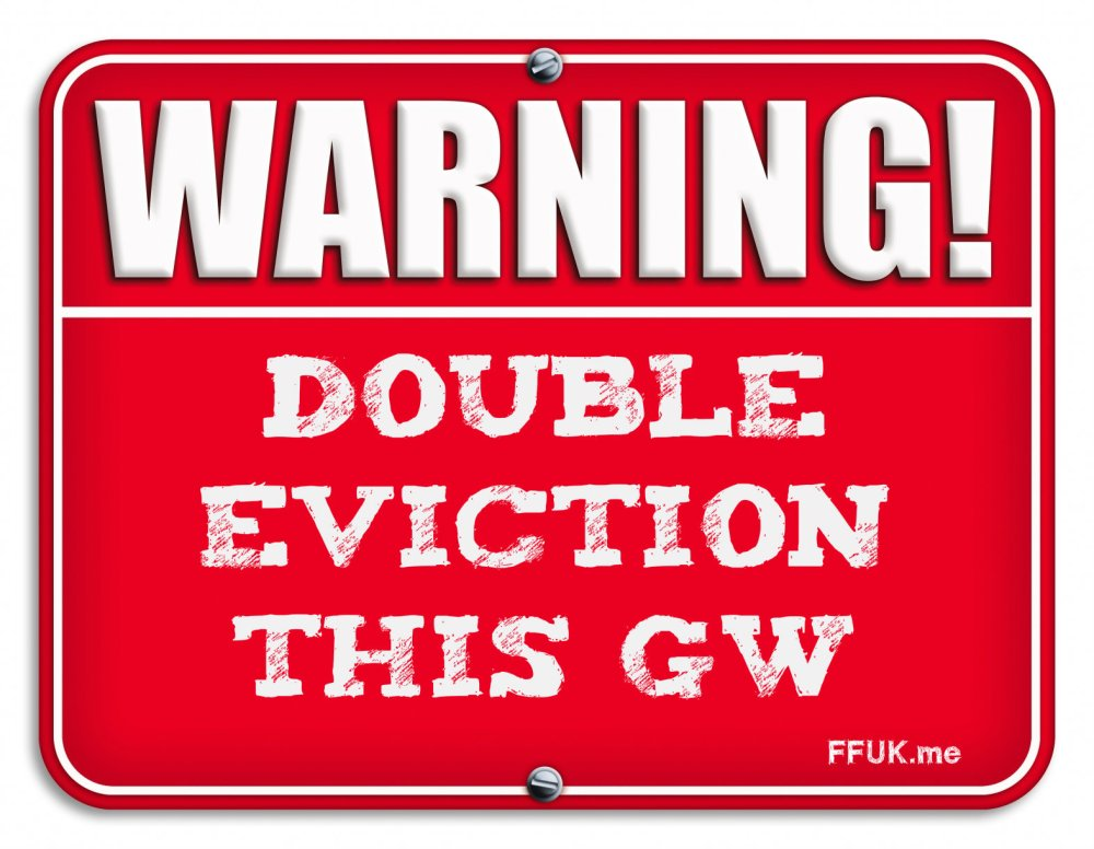 warning double eviction