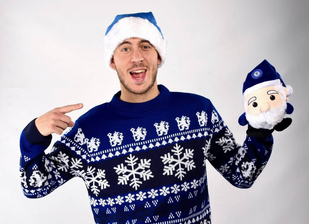 HAZARD XMAS JUMPER