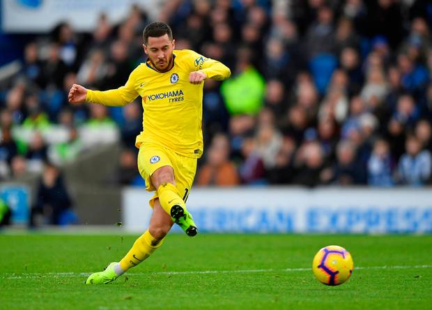 hazard vs brighton